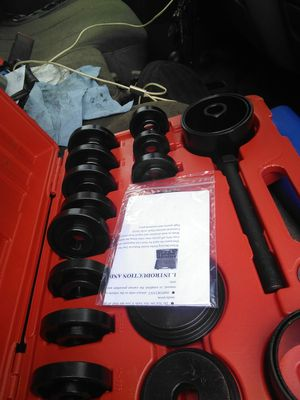 Brand New Wheel bearing installer/Removal set (order 1 they deliver 2)) for Sale in Meriden, CT