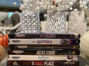 4K Movies $10 Each! for Sale in Covina, CA