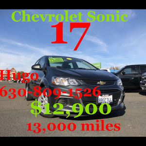 17 Chevy sonic for Sale in Sacramento, CA