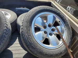 2003 Dodge Ram 20in Rims for Sale in Lewisville, TX