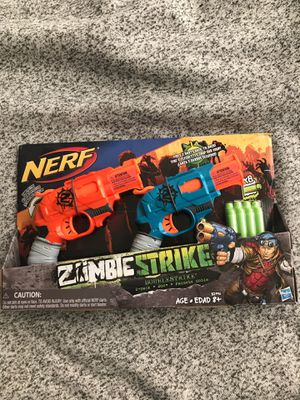 NERF Zombie Strike 2-pack gun set new in box for Sale in Vancouver, WA