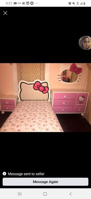 Hello Kitty Twin Girls Bedroom Set for Sale in Fort Worth, TX