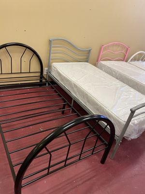 Bed twin frame on sale for Sale in Garland, TX
