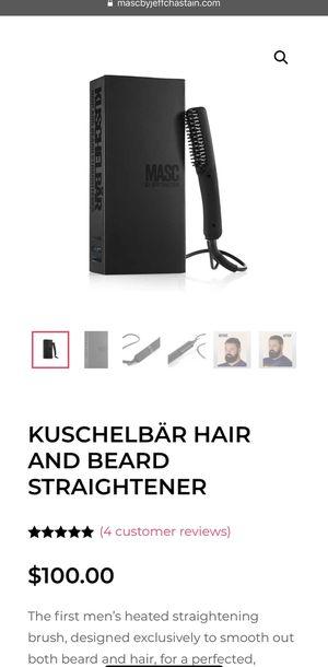Kuschelbar hair and beard straightener for Sale in North Brunswick Township, NJ