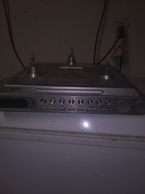 Under kitchen GPX cabinet radio/ CD player. for Sale in Perris, CA