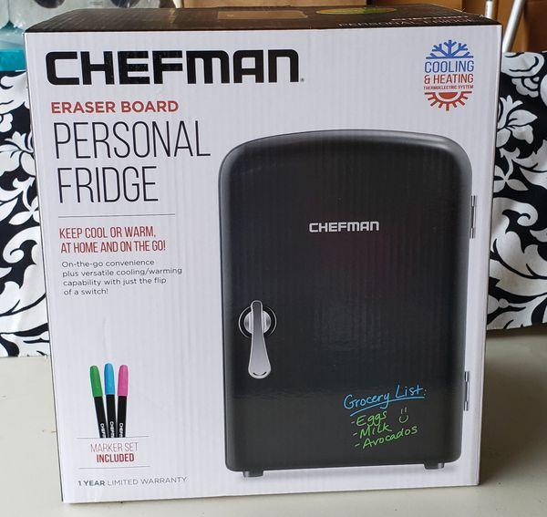 Chefman Mini Fridge 4L