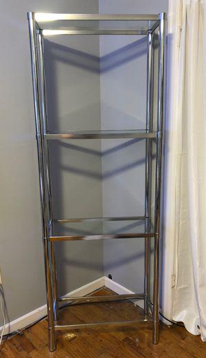 Glass four tier shelf's for Sale in Spokane, WA