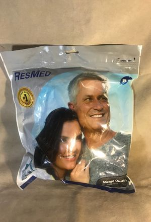 Resmed 61202 Mirage Quattro Full Face Mask Size Medium for Sale in Seattle, WA