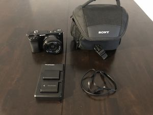 Sony A6000 bundle! for Sale in Mansfield, TX
