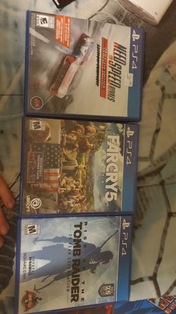 ps4 games for Sale in Prineville,  OR