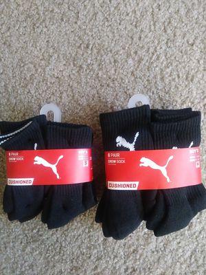 Puma boys crew socks for Sale in Moreno Valley, CA