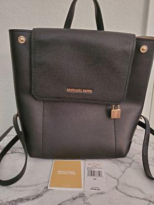 Michael Kors Hayes Black Backpack for Sale in San Diego, CA