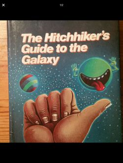 1st edition Hitchhiker's Guide to the Galaxy by Douglas Adams for Sale in Palmdale,  CA