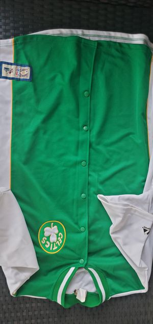 Boston Celtics Warmup Jersey for Sale in Chula Vista, CA