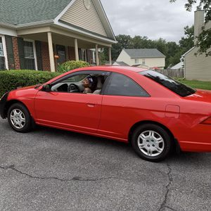 2002 Honda Civic LX, Red for Sale in Upper Marlboro, MD