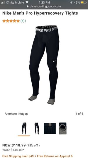 NIKE HYPERRECOVERY COMPRESSION PANTS for Sale in Washington, DC