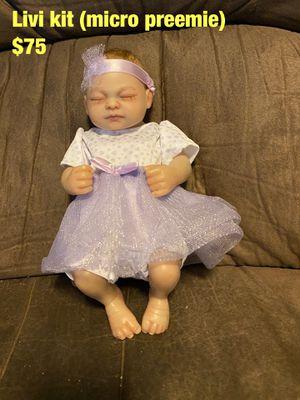 Micro preemie reborn baby for Sale in Fort McDowell, AZ