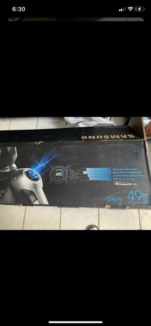 Curved 49 In Samsung Monitor for Sale in Dallas, TX