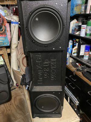 Bocinas jl audio en cajon probox for Sale in Houston, TX