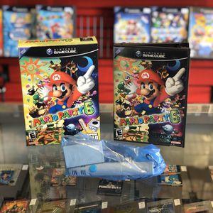 Mario Party 6 (Microphone Bundle) GameCube for Sale in Arlington, TX