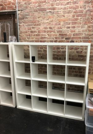 Ikea white bookshelves. Last day! for Sale in New York, NY