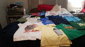 Size 7/8 shirts for 36 dress shirts t-shirt 3 jackets ( bundle) for Sale in Dallas, TX