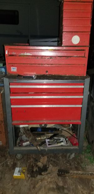 Metal upright tool box for Sale in Woodburn, OR