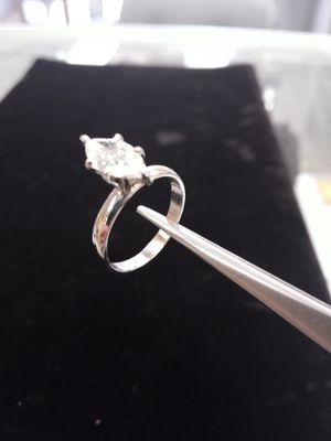 1.02 ct Diamond Ring in Tiffany Ring Deals on the NET for Sale in Utica, MI