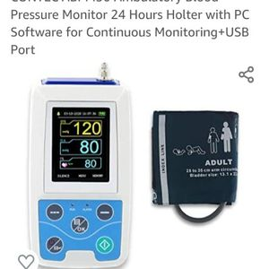 CONTEC ABPM50 Ambulatory Blood Pressure Monitor 24 Hours Holter with PC Software for Continuous Monitoring+USB Port for Sale in Bloomington, CA