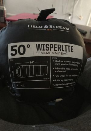 2lb sleeping bag for Sale in Saint Petersburg, FL