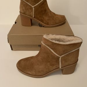 UGG Kasen Women's Suede Block-Heel Boots 1018644 Size 10 for Sale in Oklahoma City, OK
