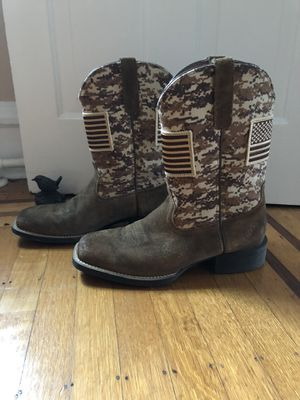 Ariat Men's American Flag Camp Boots for Sale in Perkasie, PA