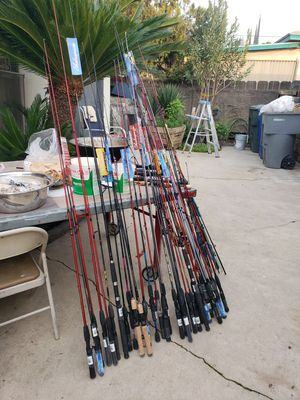 Fishing rods for Sale in Fresno, CA