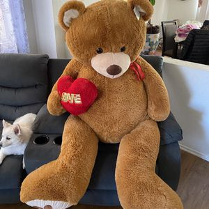 Huge Brown Teddy Bear for Sale in Irvine, CA