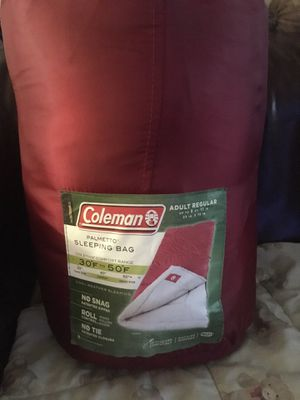 Coleman Palmetto sleeping bag for Sale in Miami Gardens, FL