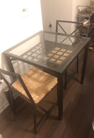 Nice table with 2 chairs perfect for the balcony or dining area for Sale in McLean, VA