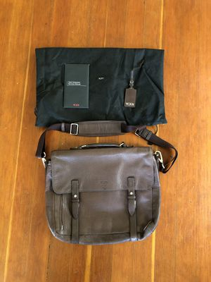 Tumi leather messenger bag for Sale in Seattle, WA