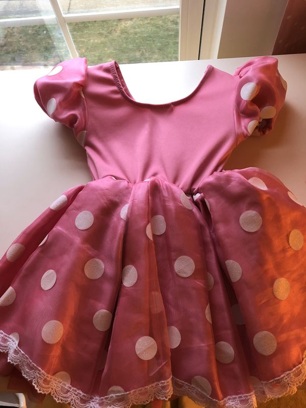 Minnie mouse costume for 2 years old from Disney store