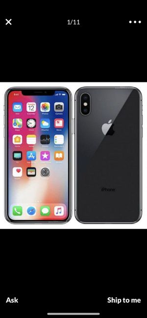 IPhone X for Sale in Norcross, GA