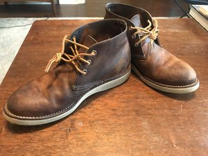 Red wing work chukkas size 9 for Sale in Austin, TX