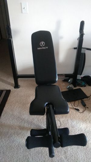 Bench bar sit down/No weight/No Bar for Sale in West Palm Beach, FL
