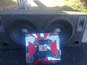 Subwoofer and equalizer sound xtreem 1400 for Sale in San Jose, CA