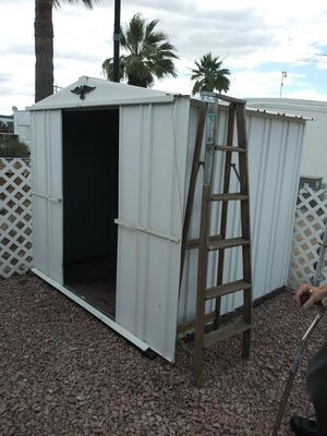Aluminum shed 6x6 for Sale in Sun City, AZ