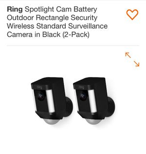 Ring spotlight cams battery for Sale in Tampa, FL