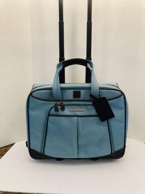 Clark & Mayfield Teal Rolling Laptop / Luggage Bag for Sale in Spring Hill, FL