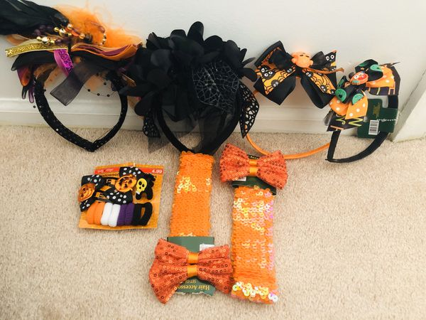 Brand new halloween hair accessories (pick up only)