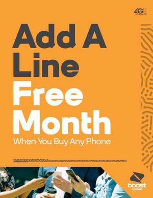 ADD A LINE FOR FREE!!! for Sale in Harrisonburg, VA