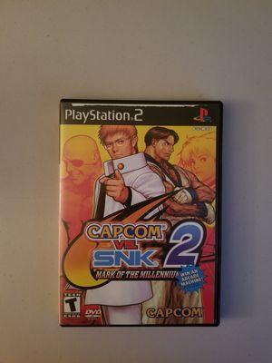 PS2 Capcom vs SNK 2 for Sale in Pomona, CA