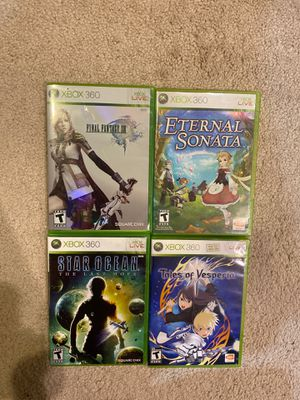 XBOX 360 JRPG Games (open for negotiation) for Sale in Olney, MD