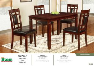 new dinning set with 4 chairs available > limited offer for Sale in Brockton, MA
